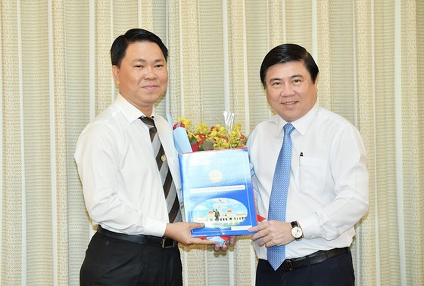 Tran Hoang Quan appointed as Director of HCMC Department of Construction  ảnh 1