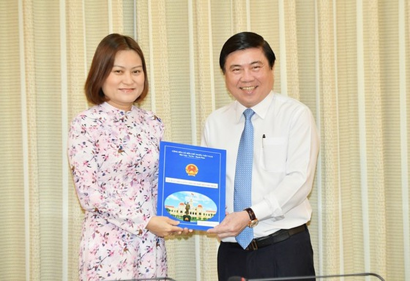 Tran Hoang Quan appointed as Director of HCMC Department of Construction  ảnh 2