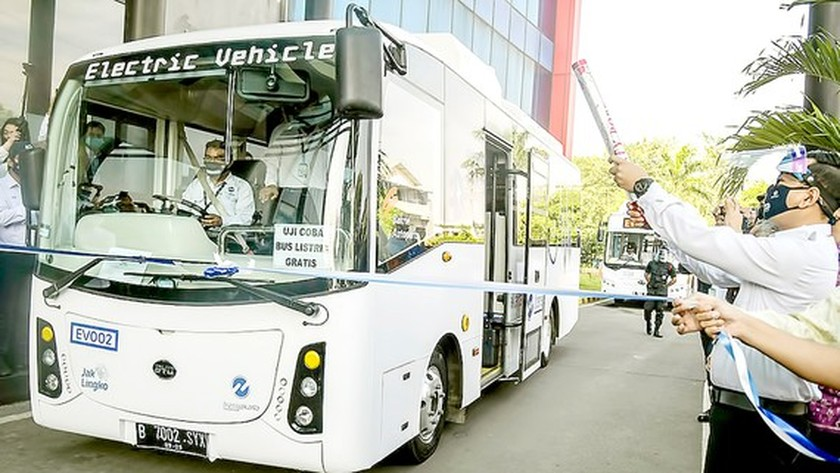 E-bus project to be piloted in Ho Chi Minh City  ảnh 1