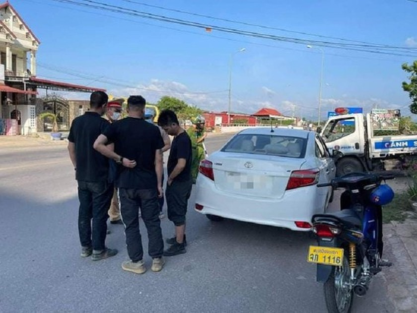 Quang Tri Province's Police detect three illegal Chinese immigrants  ảnh 1