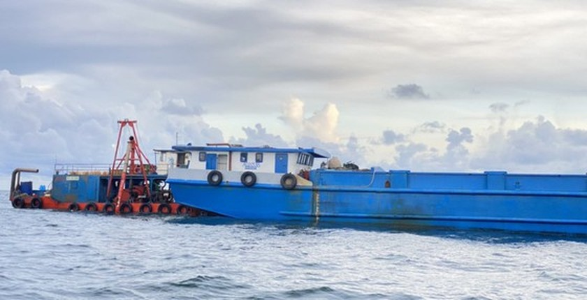 Kien Giang Province detects four illegal immigrants from Cambodia by seaway  ảnh 1