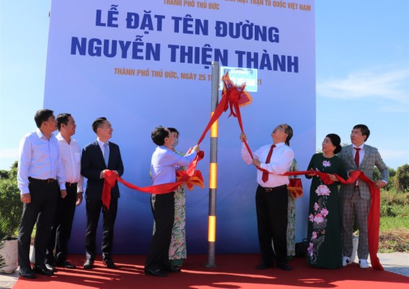 20 streets in Thu Duc City named after historical figures, famous people ảnh 1