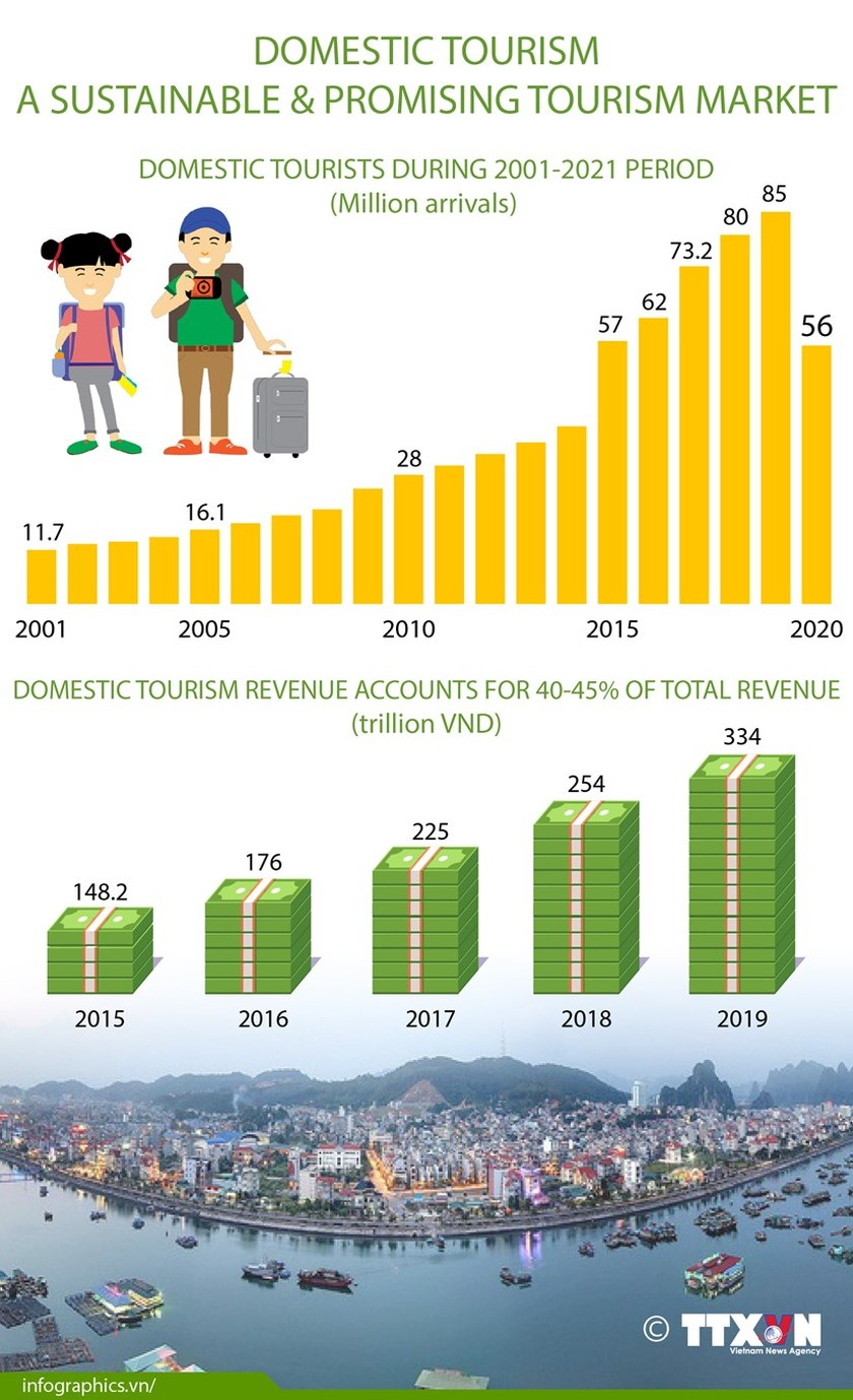 Domestic tourism a sustainable and promising market ảnh 1