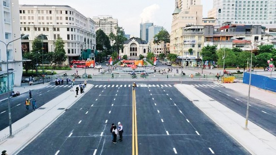 HCMC's Le Loi Street becomes clear, spacious  ảnh 1