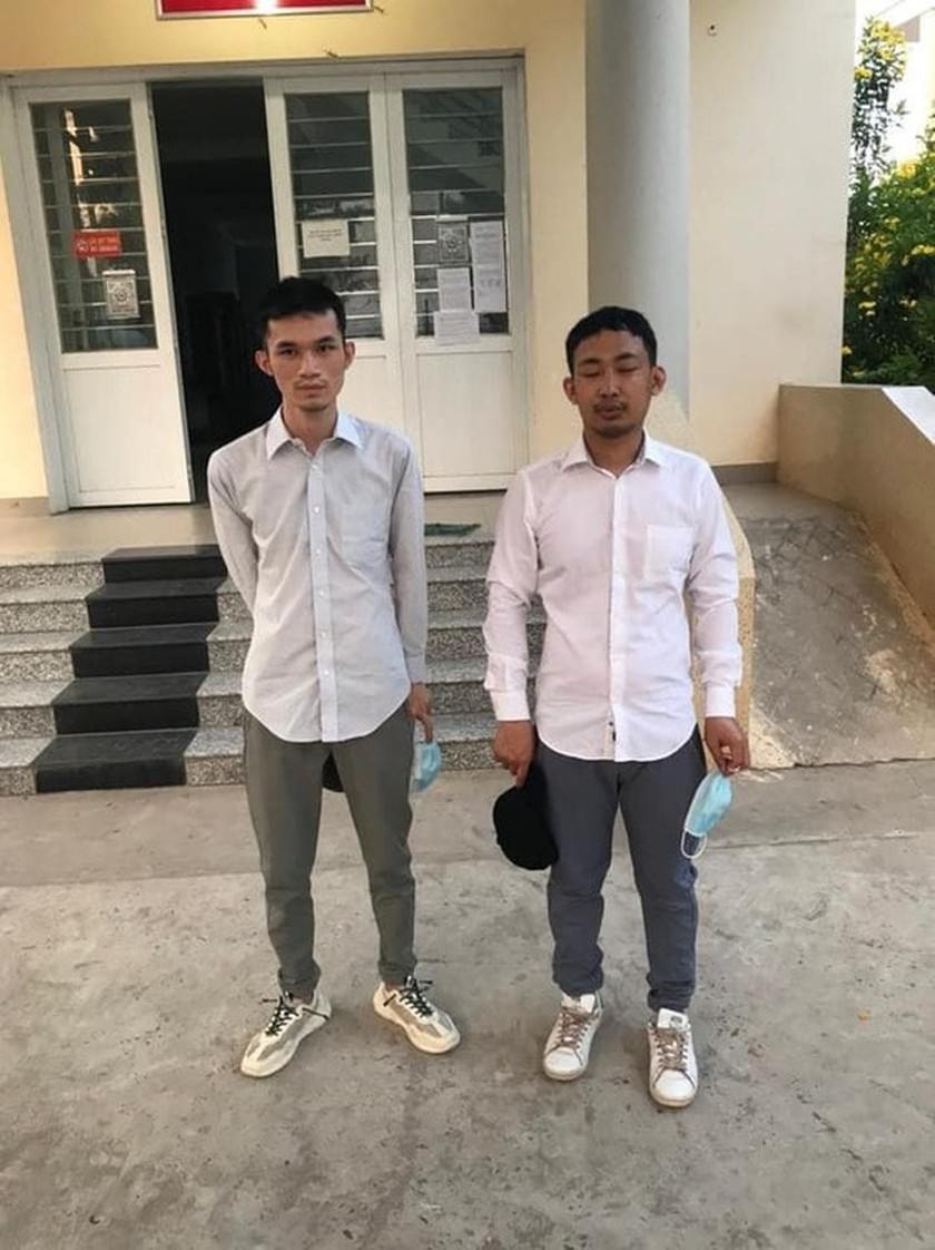 Two Chinese escaping from quarantine facility arrested ảnh 1