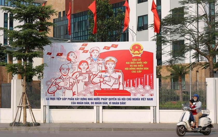 Hanoi welcomes National Assembly election day ảnh 1