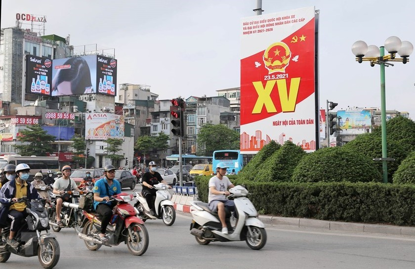 Hanoi welcomes National Assembly election day ảnh 2