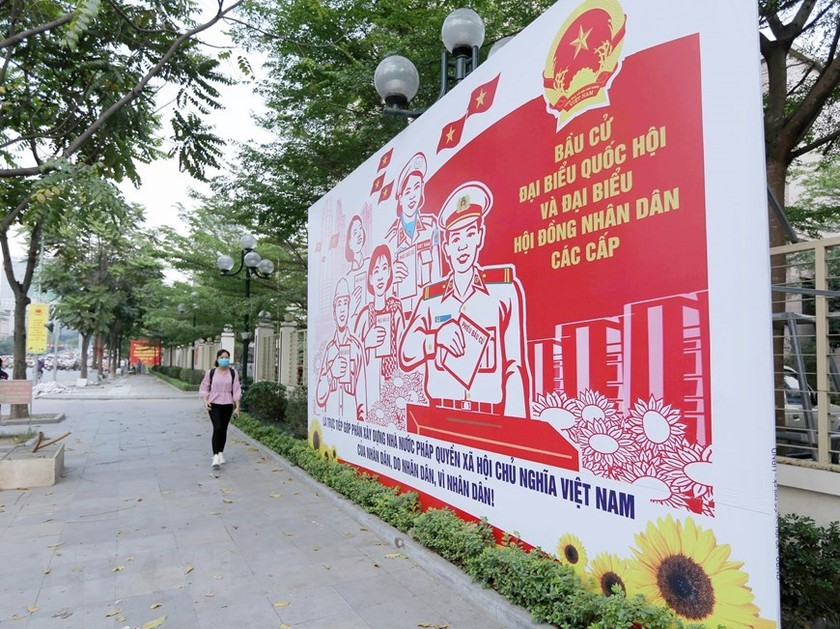Hanoi welcomes National Assembly election day ảnh 4