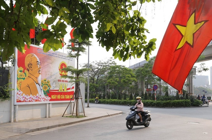 Hanoi welcomes National Assembly election day ảnh 5