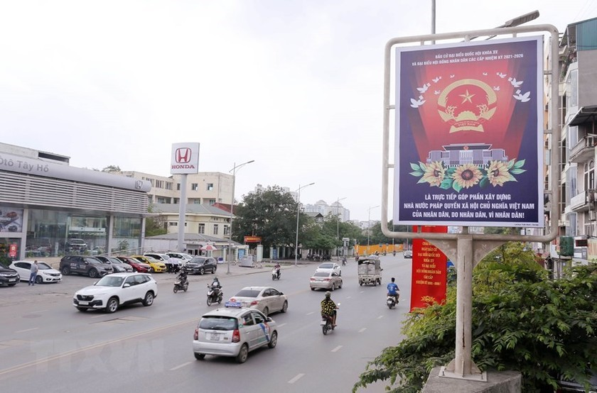 Hanoi welcomes National Assembly election day ảnh 6