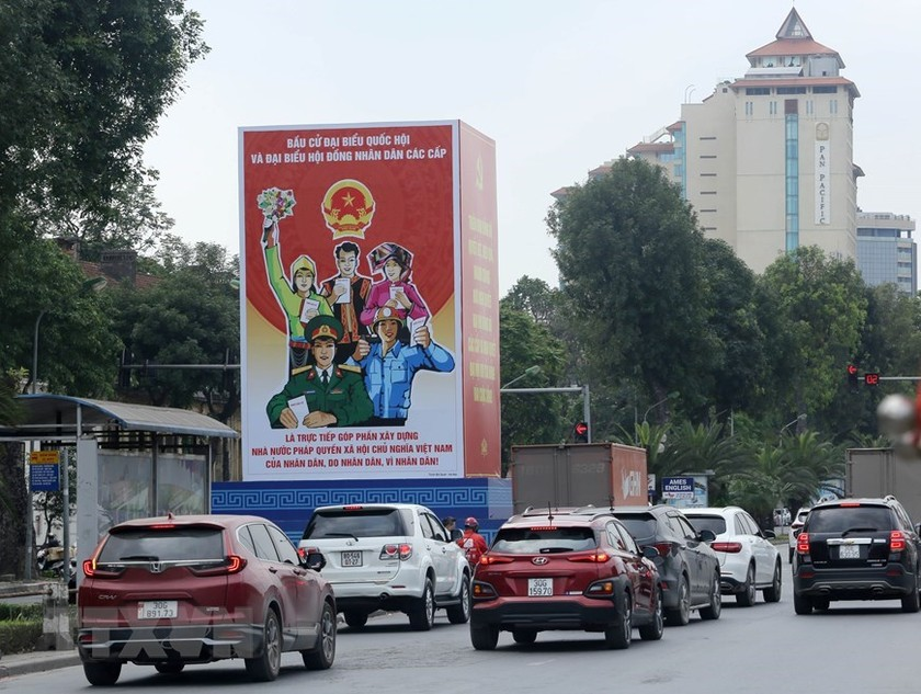 Hanoi welcomes National Assembly election day ảnh 7