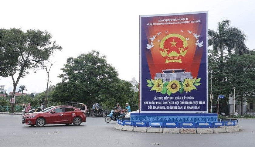 Hanoi welcomes National Assembly election day ảnh 8