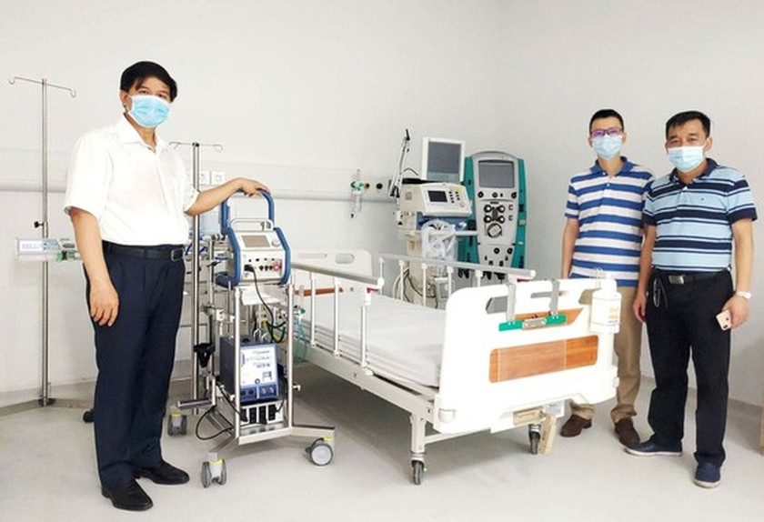 Many localities open field hospitals for Covid-19 treatment ảnh 3