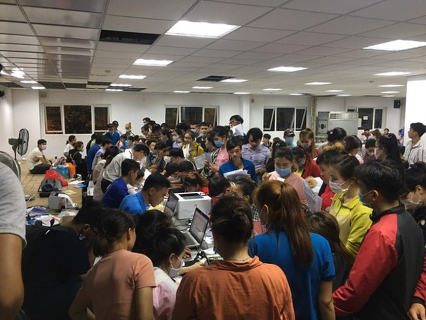 Hundreds of workers sue enterprise in Long An Province  ảnh 1