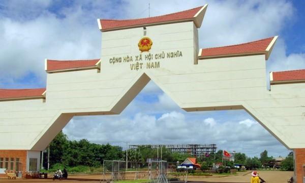 Tay Ninh Province opens Tan Nam-  Meun Chey international border gate ảnh 1