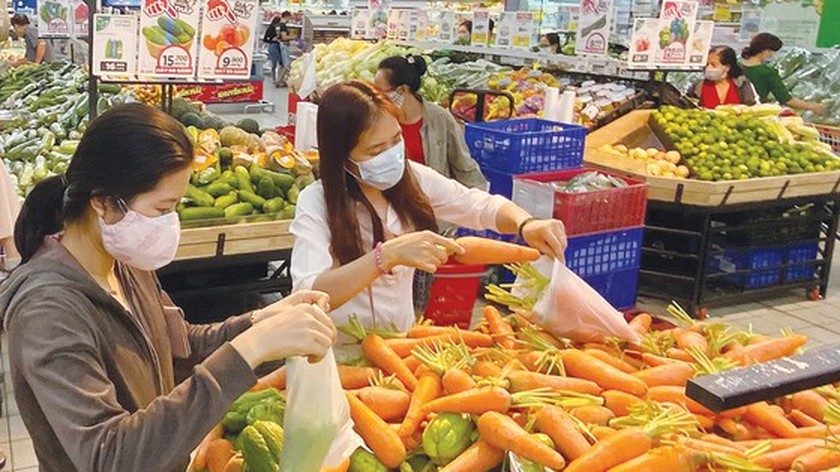 Agricultural products from provinces to HCMC uninterrupted amidst Covid-19 ảnh 1