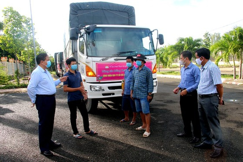 Localities offer supports to HCMC residents affected by Covid-19  ảnh 4