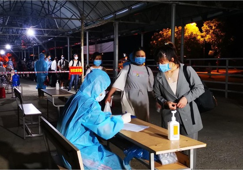 Thanh Hoa Province receives, perform quarantine for Vietnamese workers overseas ảnh 1