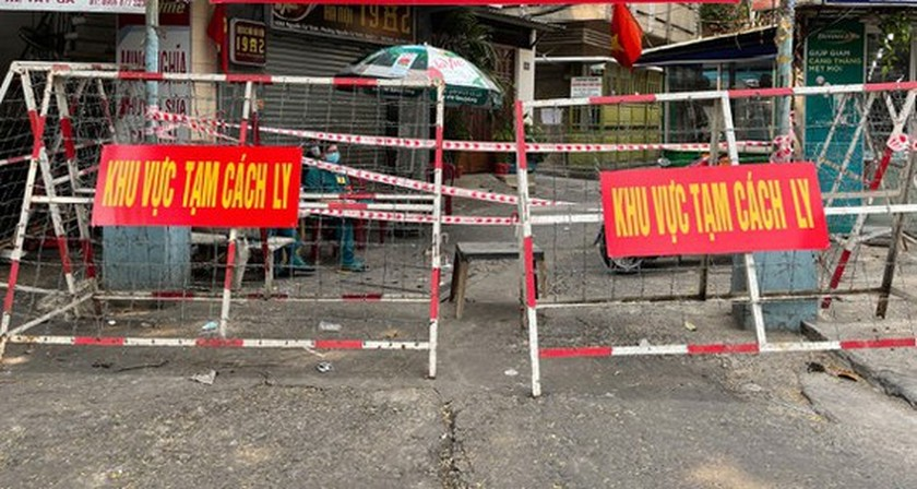 HCMC records 3,057 lockdown sites by Wednesday afternoon  ảnh 1