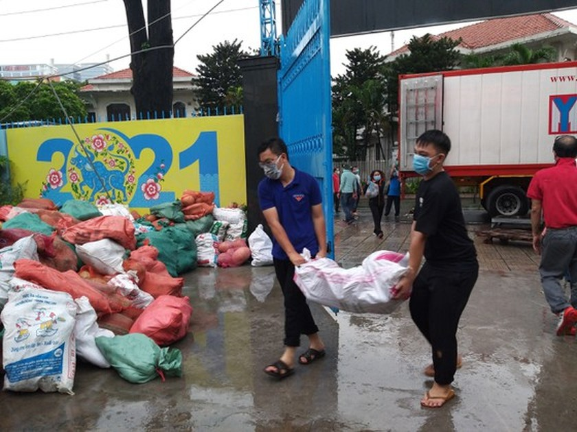HCMC receives 25 tons of vegetables from overseas Vietnamese ảnh 4