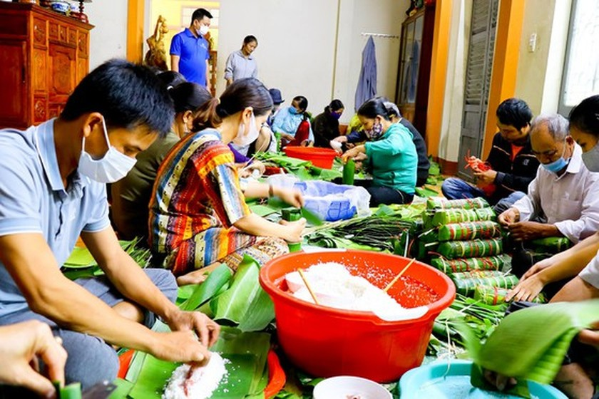 Quang Tri sends over 600 tons of goods to HCMC, Southern residents  ảnh 1