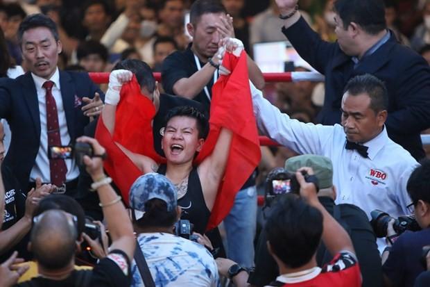 Vietnamese female boxer to fight for WBO's world belt in RoK ảnh 1