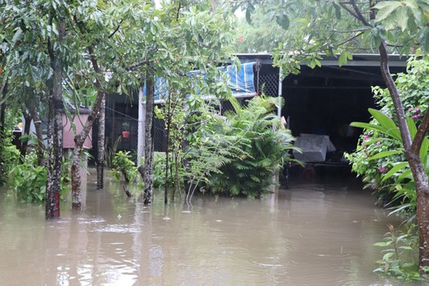 Storm-triggered flooding disrupts traffic in Central region  ảnh 5