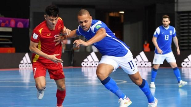 Vietnam loses 1-9 to Brazil at 2021 FIFA Futsal World Cup ảnh 1