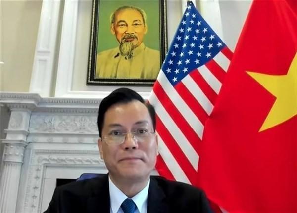 Vietnam - US mutual support in Covid-19 fight wins high appreciation ảnh 1