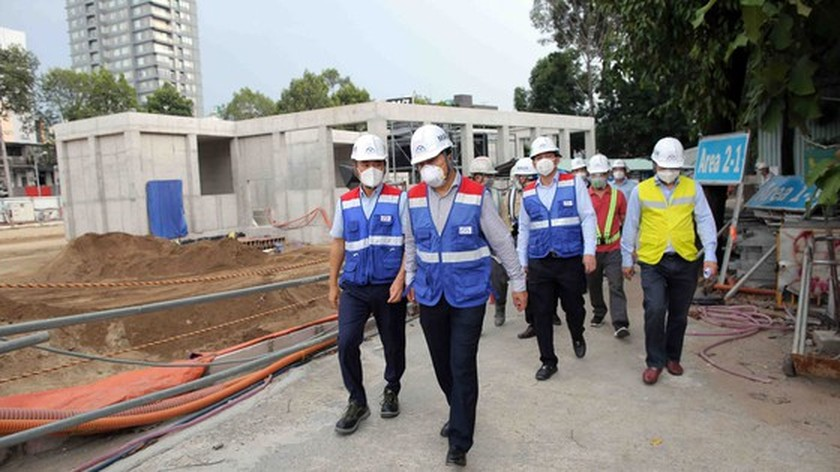 Metro line No.1 progress depends on Covid-19 pandemic situation ảnh 4