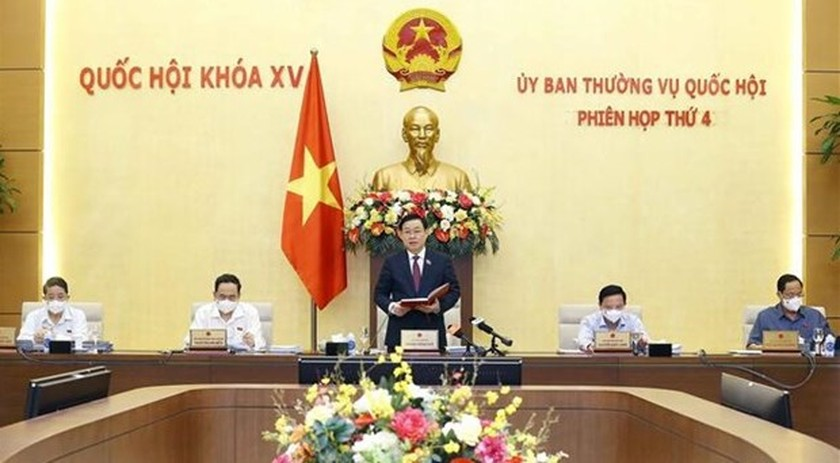 NA Standing Committee's fourth session opens ảnh 1