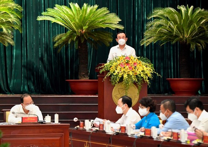Key contents hinted at 9th extended conference of HCMC Party Executive Committee ảnh 3