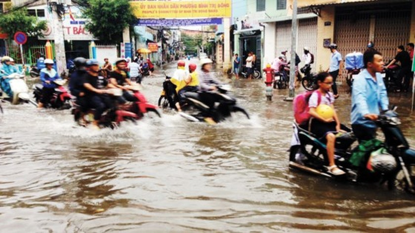 Culvert system seems ineffective in coping with flooding in HCMC ảnh 3