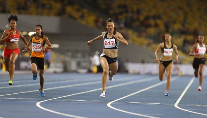 Vietnam athletics on top of ASEAN ảnh 1
