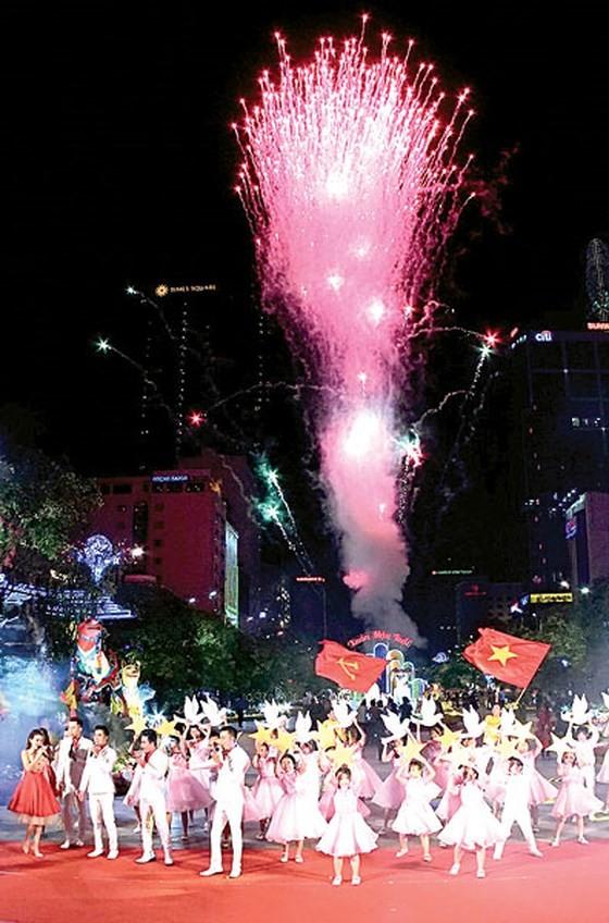 Nguyen Hue flower street opens in downtown HCMC ảnh 1