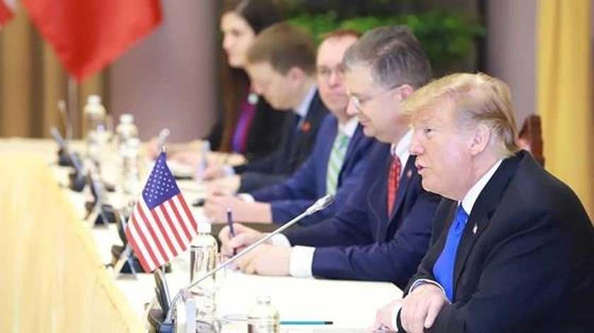 Top Vietnamese leader holds talks with US President ảnh 4
