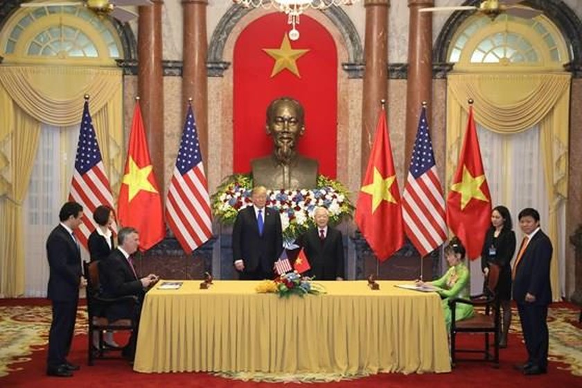 Top Vietnamese leader holds talks with US President ảnh 7