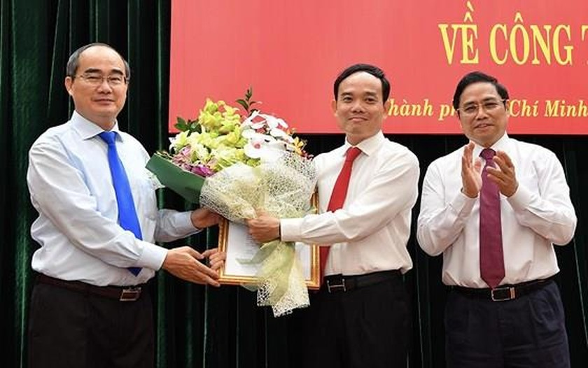 Party Chief in Tay Ninh inaugurated as Vice Party Chief in HCMC ảnh 1