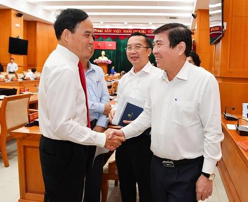 Party Chief in Tay Ninh inaugurated as Vice Party Chief in HCMC ảnh 2