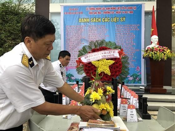 Ceremony commemorates fallen soldiers in Gac Ma battle ảnh 10