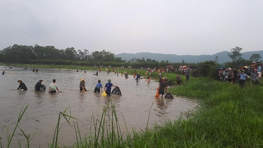 Thousands of people attend fishing festival in Ha Tinh province ảnh 11