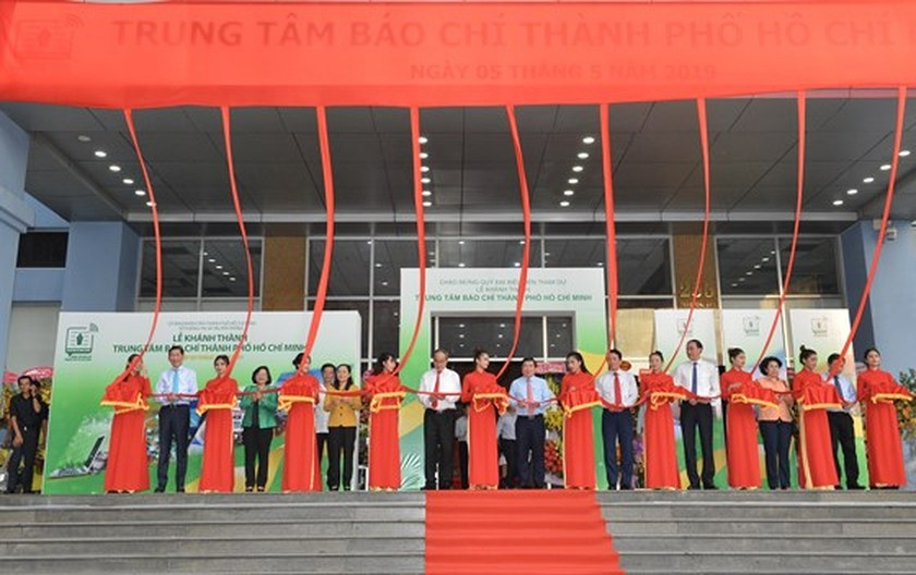 First Press Center in Vietnam comes into operation ảnh 1