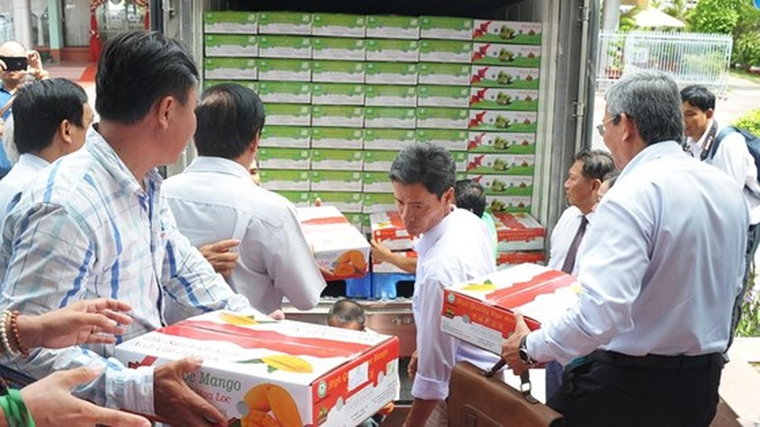 Vietnamese mangoes continue being exported to US ảnh 2