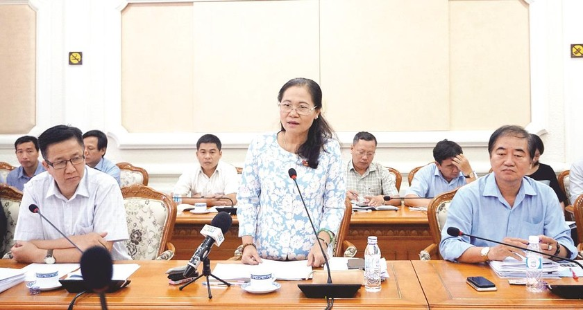 Many anti-flooding projects later than expected in HCMC ảnh 1