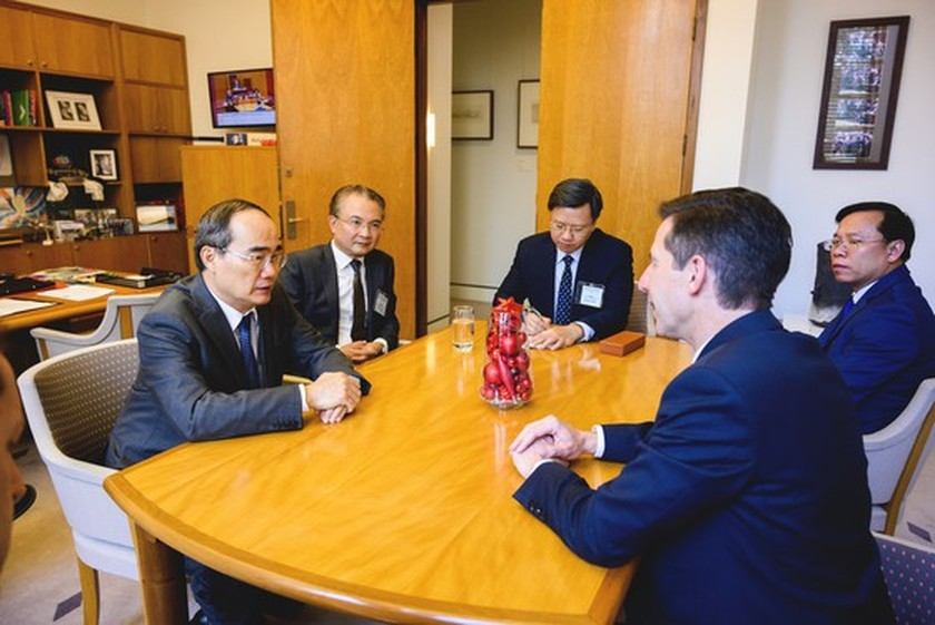 City Party Chief meets Australian Prime Minister in Canberra ảnh 2