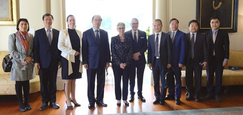 City Party Chief meets Australian Prime Minister in Canberra ảnh 3