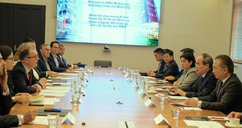 City Party Chief meets Australian Prime Minister in Canberra ảnh 5