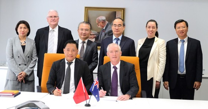 City Party Chief meets Australian Prime Minister in Canberra ảnh 6