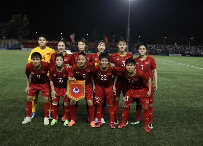 Vietnam women enter SEA Games football's final ảnh 1