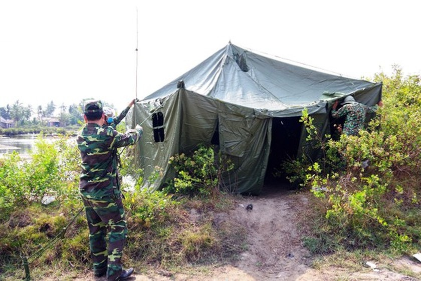 Border guard forces strive to control Covid-19  ảnh 1